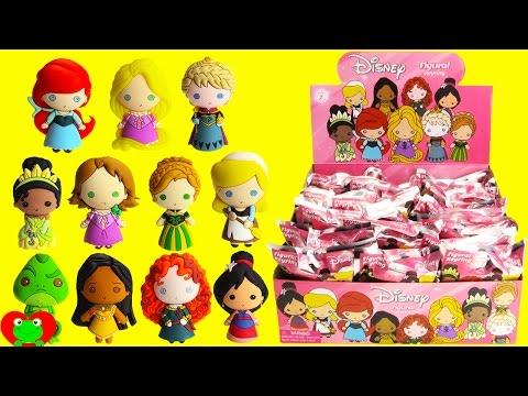 Disney Princess Figural Keyrings