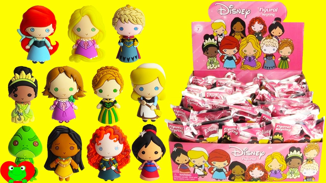 Disney Princess Figural Keyrings Youtube