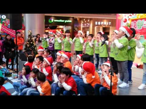 2013 Christmas singing show @ Domain