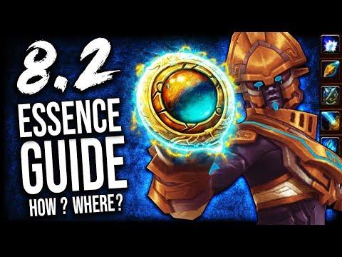 BFA ESSENCE GUIDE For Patch 8.2 (Heart Of Azeroth Essences)