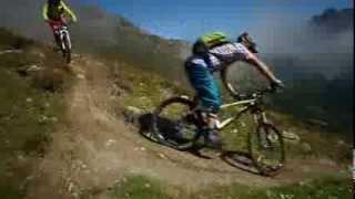 Mountainbike Trail Tipps, Spitzkehren und Bunny Hop im Singletrail in Ötztal