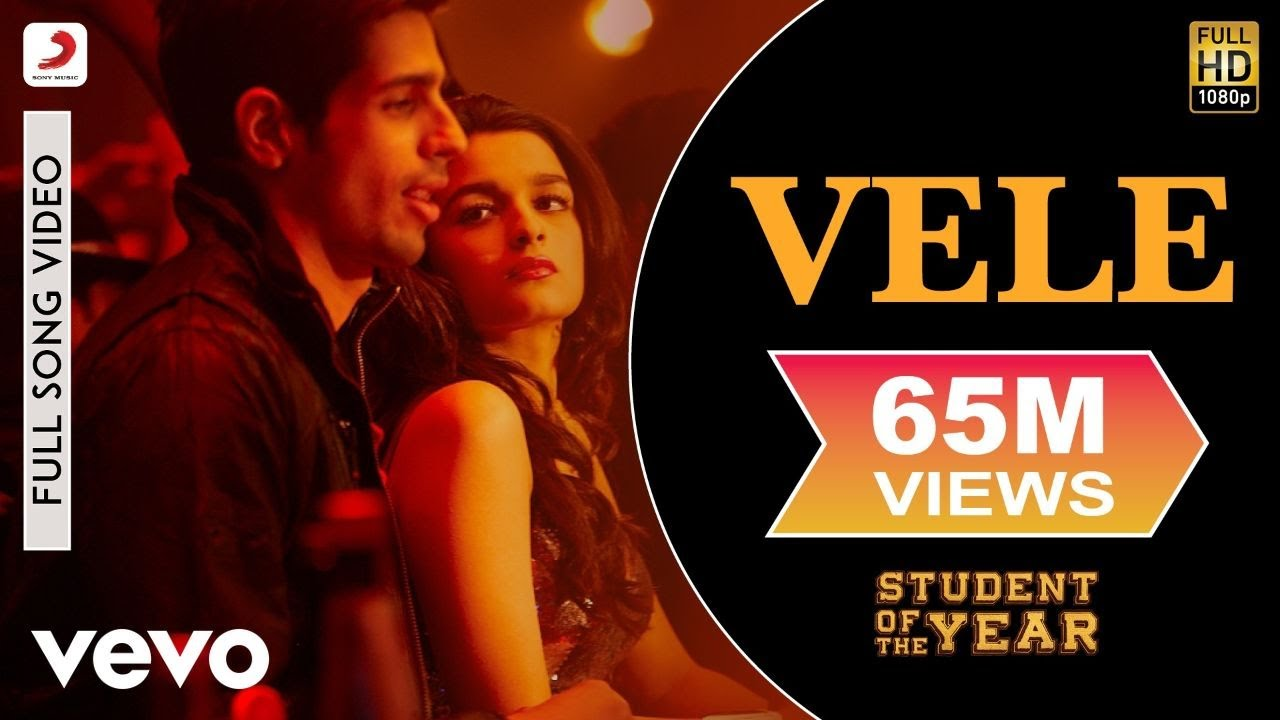 Vele Student Of The Year Sidharth Malhotra Varun Dhawan Youtube