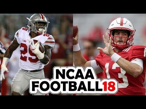Ohio State @ Nebraska - 10-14-17 NCAA Football 18 Week 7 Simulation (UPDATED ROSTERS)