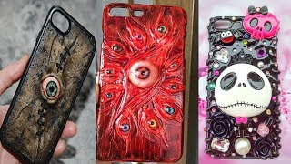 30 Fantastic DIY Phone Cases | Cool Halloween Phone Case DIY Projects