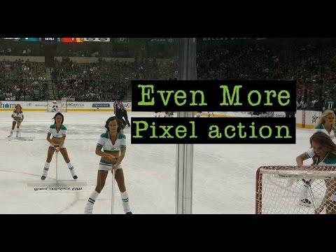 Google Pixel shoot high action at the Dallas Stars and Dallas Mavericks games
