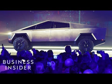 Watch Tesla Unveil Its Pickup Truck In Under 6 Minutes