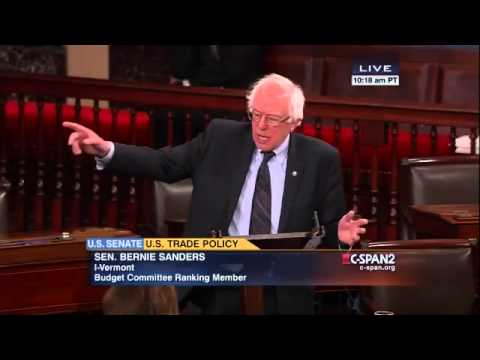 Bernie Sanders – TPP: A Raw Deal for America