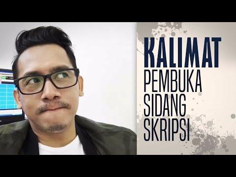 DJ Arie - Kalimat Pembuka Sidang Skripsi Mp3