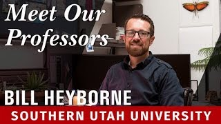 Meet Our Professors: Bill Heyborne, Biology
