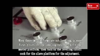 Автомобильный ножничный подъемник AE&T 3т 220В F6105(, 2016-05-11T11:51:18.000Z)