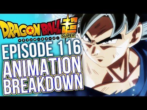 Ultra Instinct Looks GORGEOUS - Episode 116 Animation Breakdown - Dragon Ball Super