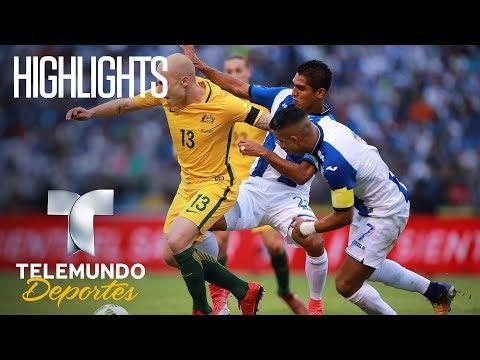 Honduras 0 – Australia 0 Highlights  | Rumbo al Mundial 2018 | Telemundo Deportes