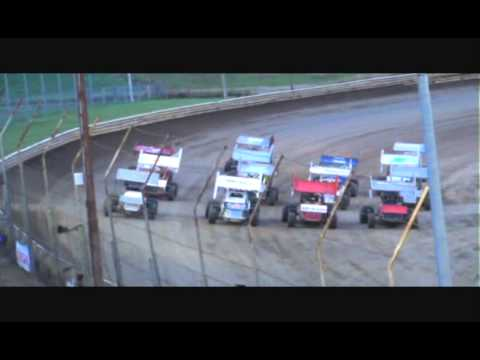 URSS Sprints Belleville High Banks 8 3 13 Video