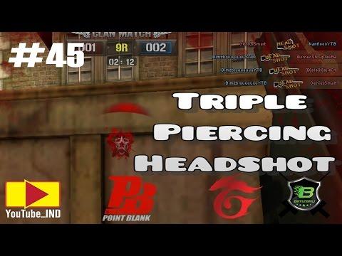 TRIPLE PIERCING HEADSHOT - CLAN WAR - YouTube_IND - PBGI #45