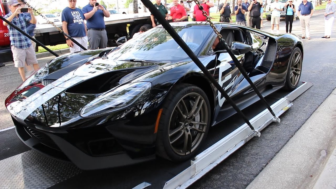 Floridas St  Ford Gt Heritage Edition Delivery