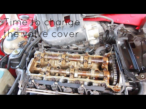 REPLACING THE VALVE COVER GASKET ON A 2001 MK4 VR6