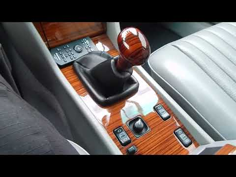 1995 Mercedes Benz E300D with 5 speed manual transmission test drive video