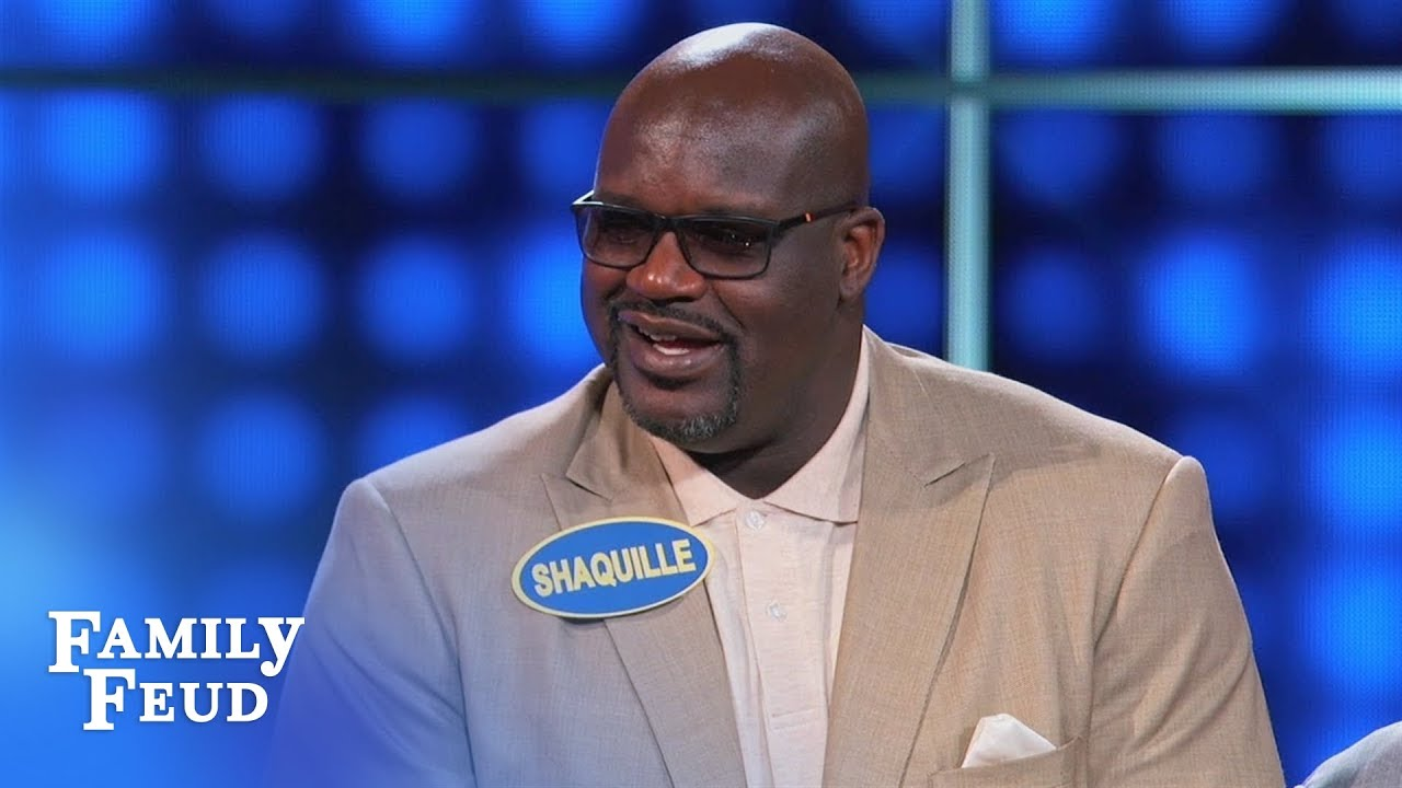 If Shaq lives to be 100... | Celebrity Family Feud