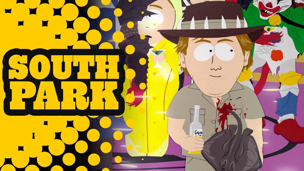 Satan Kicks the Crocodile Hunter Out of His Super Sweet 16 Party - SOUTH PARK