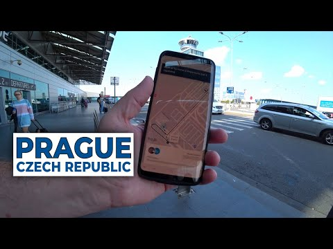Prague Czech Republic - Uber From Airport To The Hotel