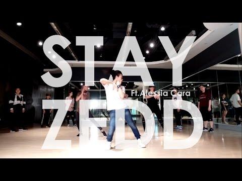 Stay - Zedd ft.Alessia Cara   Choreography JumBo.Bazic   Beginner JAZZ FUNK  