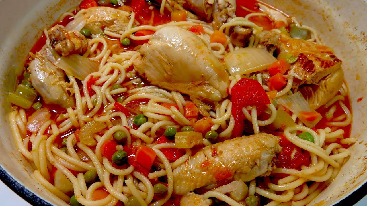 Pollo Con Tallarines Chicken With Spaghetti Youtube Watermelon Wallpaper Rainbow Find Free HD for Desktop [freshlhys.tk]
