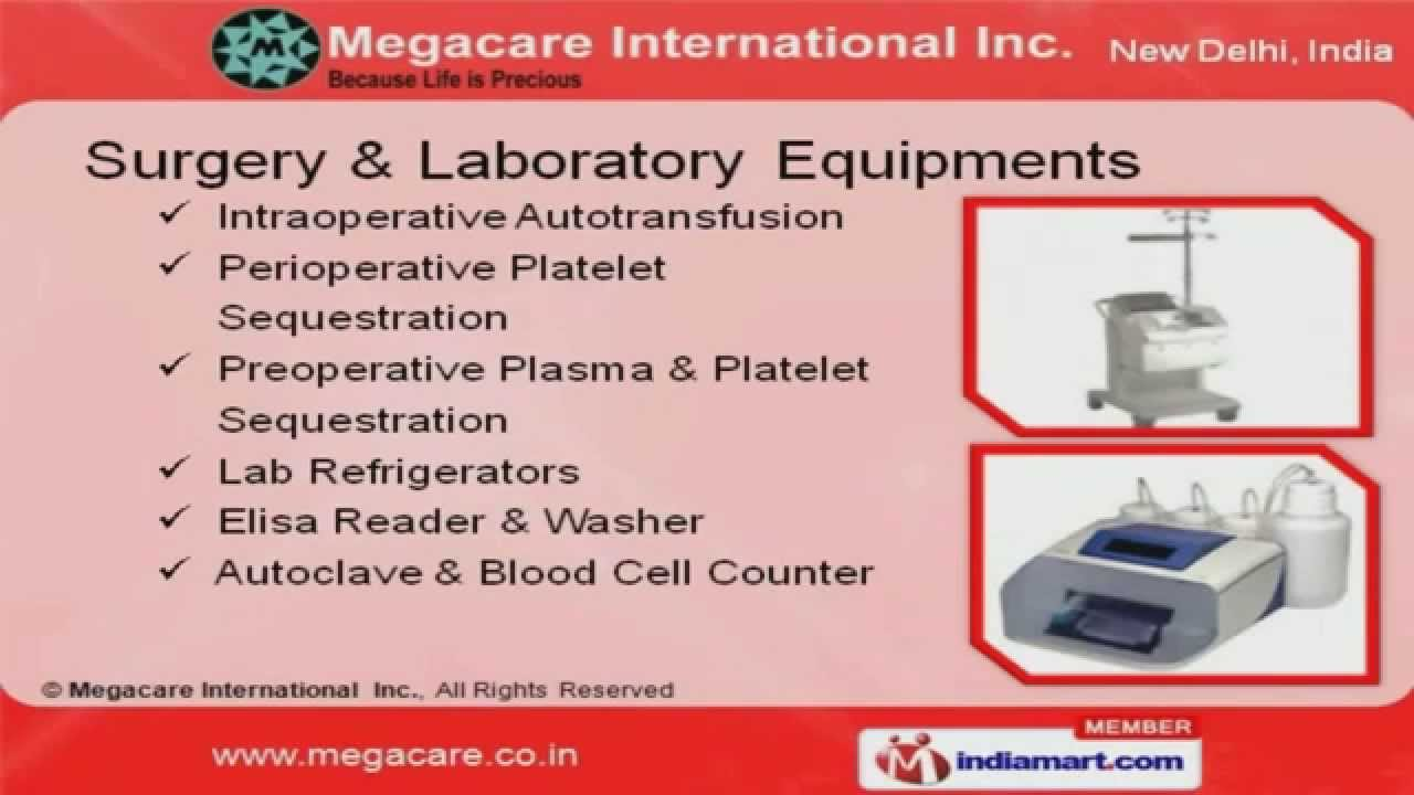 Medical Equipment Supplier by Megacare International Inc , New Delhi
