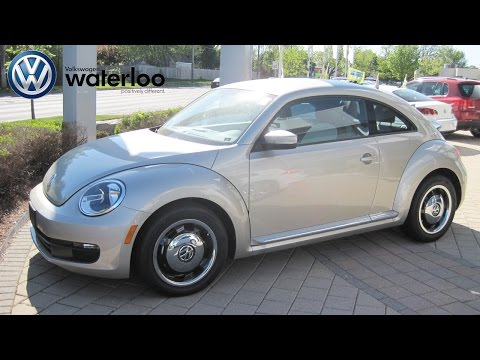 2015 VW Beetle Classic Review with Robert Vagacs