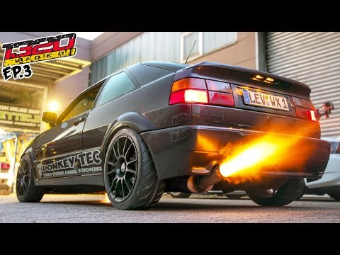 650hp Turbo VR6 DonkeyTec Corrado RIPS! (Germany: EP-3)