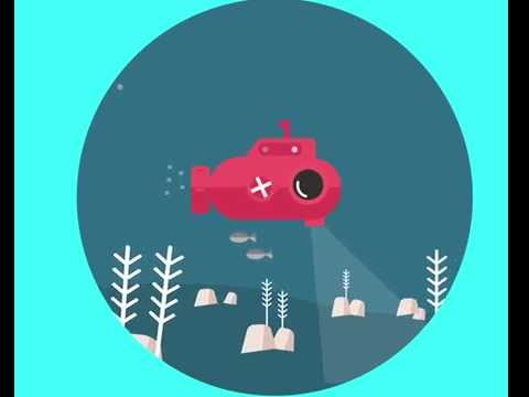 2d motion graphic |submarine