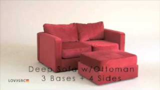 69 sactional positions LoveSac