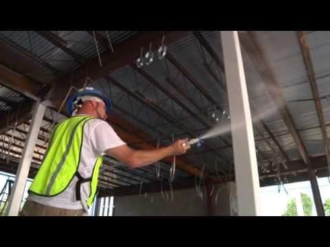 CAFCO SprayFilm WB 5 Intumescent Coating by Isolatek International