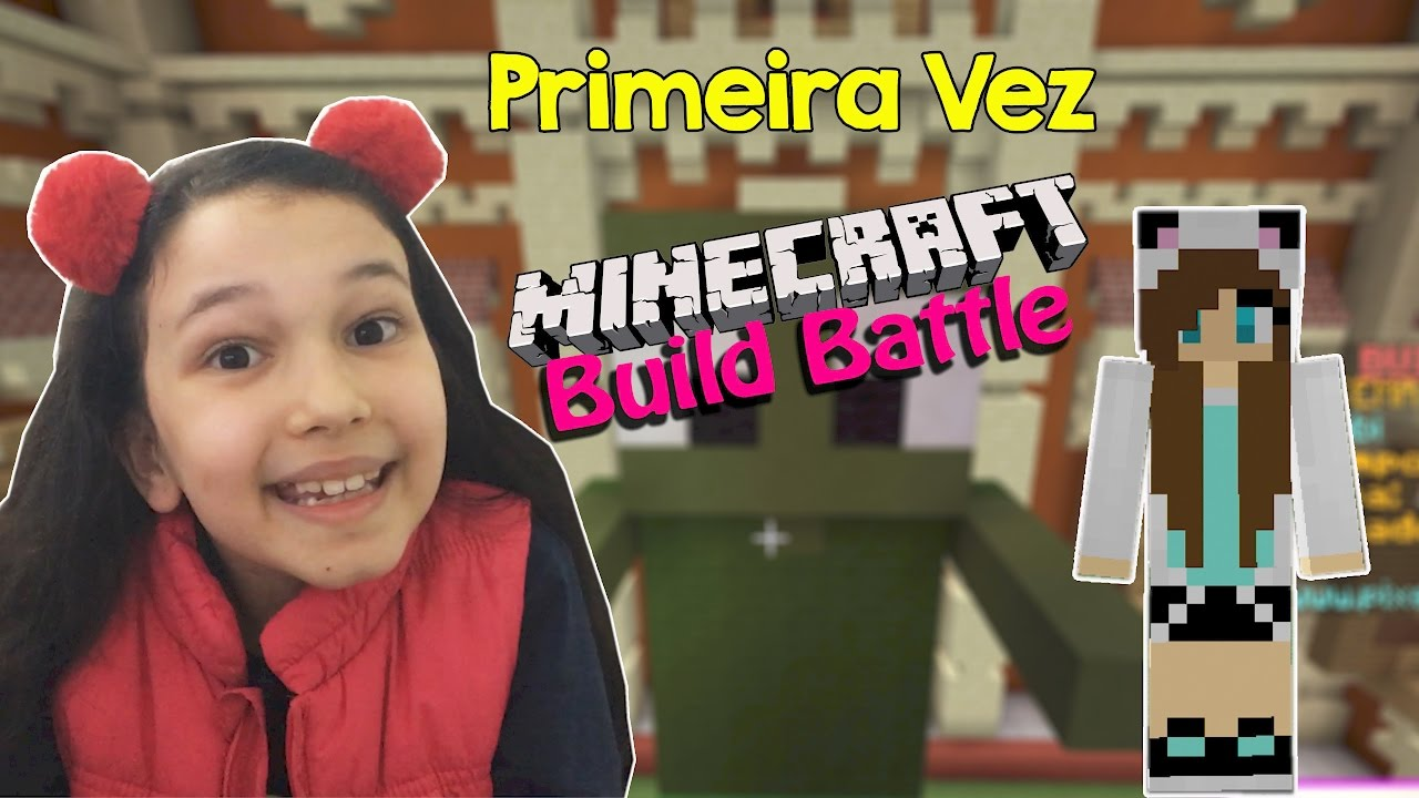Minecraft Build Battle - CONSTRUINDO ZUMBI E ASTRONAUTA | Luluca Games