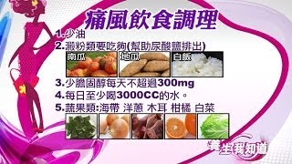 進補補出病7-5:痛風者澱粉要吃夠 促尿酸鹽排出 | 養生我知道 | 三立財經台CH88 thumbnail