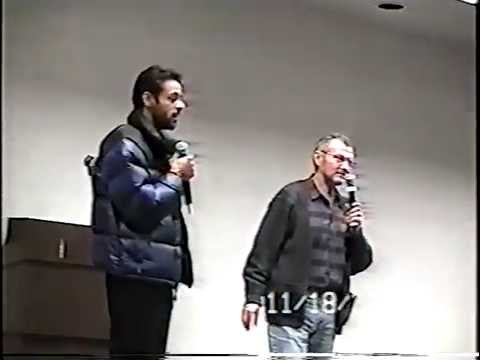 Andrew Robinson Alexander Siddig in West Virginia Day 1 Part 1