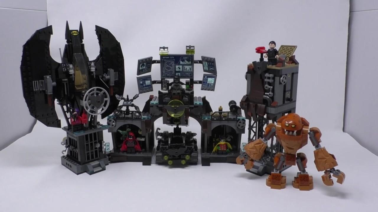 LEGO Set DC Batman Batcave Clayface Invasion 76122