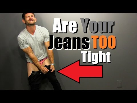 Are Your Jeans TOO Tight? 6 Signs You Look Like A Sausage. http://bit.ly/2WDEyq3