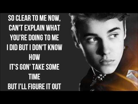 Justin Bieber - Thought Of You Lyrics Video HD