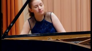 "David Auldon Brown: Piano Sonata No. 1 (""Birthday Sonata"") - Jennifer Nicole Campbell, piano"
