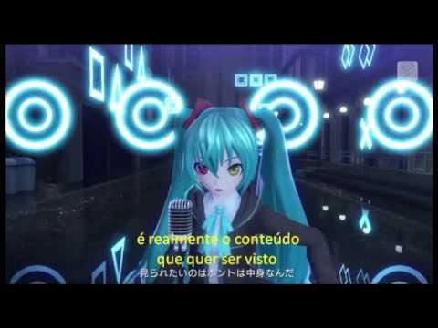 Project Diva X - Strangers - legendado pt/br Miku