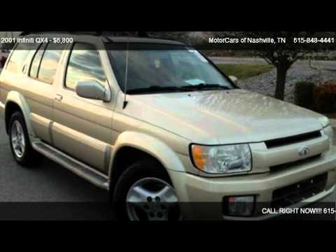 Motorcars Of Nashville >> 2001 Infiniti QX4 4dr SUV Luxury 4WD AWD SUV - for sale in ...