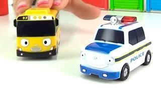 Автобус Тайо и его гараж. Развивающее видео - Учим...