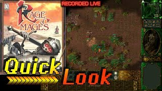 Let's Play Rage of Mages | Nival Interactive 1998 | Quick Look