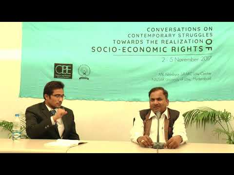 Conversations | prof. G.B Reddy | THE REALISATION OF SOCIO-ECONOMIC RIGHTS