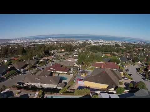Millbrae CA drone video