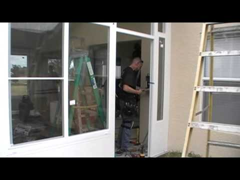 Affordable Energy Solutions-  Sunroom being built in Spring Hill, Florida