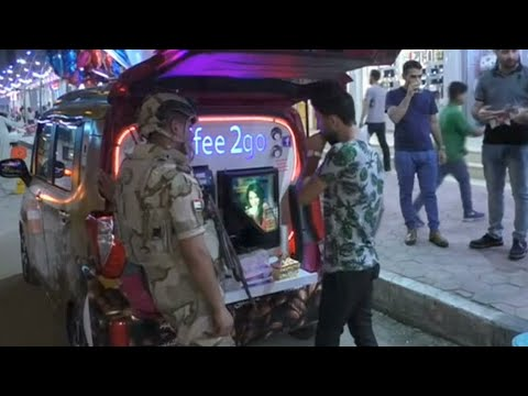 شاب عراقي يدير مقهى متنقلا في البصرة  - نشر قبل 2 ساعة