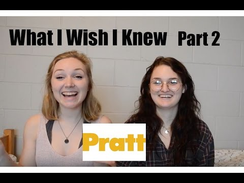 What I Wish I Knew Before Coming To Pratt (Part 2!)