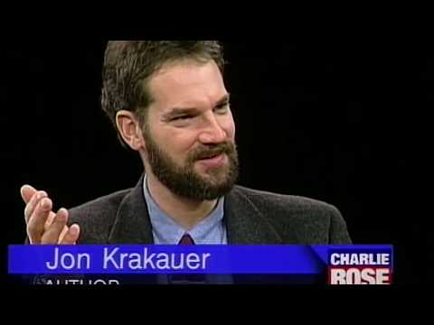 "Jon Krakauer interview on ""Into the Wild"" (1996)"
