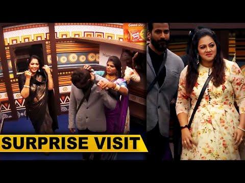 மீண்டும் BIGG BOSS வீட்டுக்குள் நுழைந்த பழைய போட்டியாளர்கள்.., Surprise Visit..! | Archana | Rekha